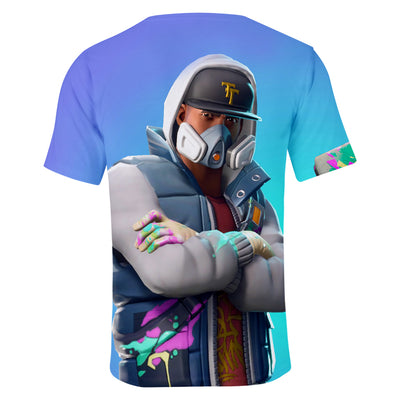 Abstract Skin 3D T-Shirt