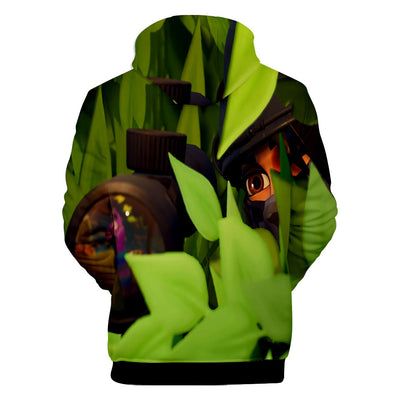 Llama Spotted Loading Screen Battle Royale 3D Hooded Sweatshirt