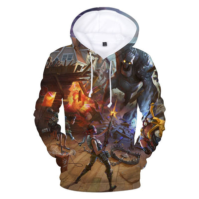 Battle Royale 3D Hooded Sweatshirt