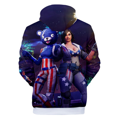 Fireworks Team Leader 3D Hooded Sweatshirt
