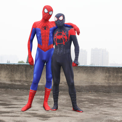 Spider-Man Into the Spider-Verse Cosplay Bodysuit Costume for Kids and Adults