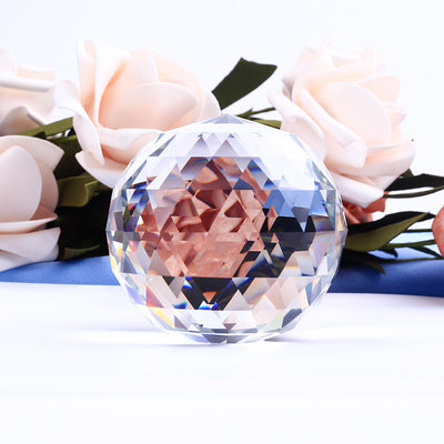 6CM Faceted Crystal Ball