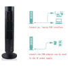 Mini Air Cooling Desktop Tower Fan with USB Charger