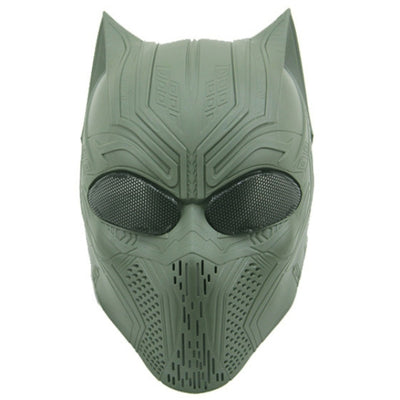 Paintball Airsoft Full Face Protection Panther Skull Mask Shoperduper