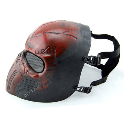 Wargame Skull Paintball & Airsoft Full Face Protection Mask