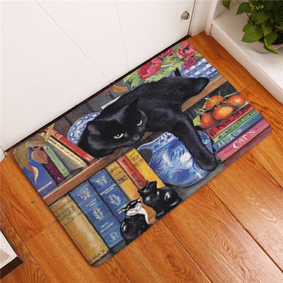 Cute Cats Collection Anti-slip Floor Mat