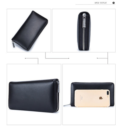 Zipper Wallet with 36 Cards Compartment