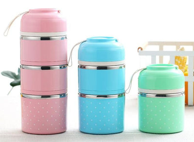 Multi-layer Stainless Steel Thermal Lunch Box