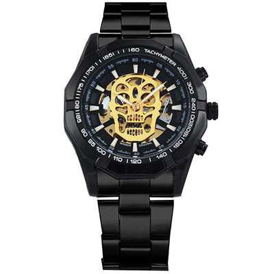 Automatic Skull Mechanical Watch