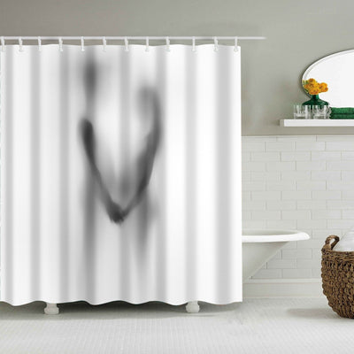 Sexy Shadow Collection Shower Curtain
