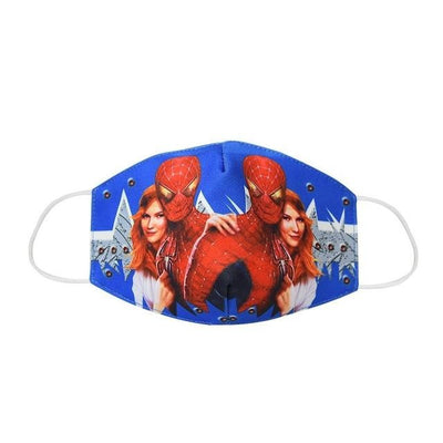 3pcs Superhero Fabric Face Mask Set for Kids and Adults