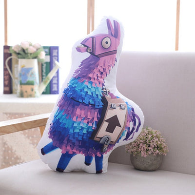 Llama Battle Royale Stuffed Pillow