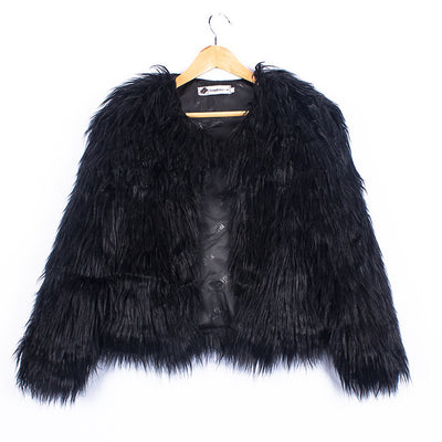 Faux Fur Jacket For Girls (2-10 Y)