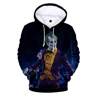 Joker 3D Hooded Sweatshirt