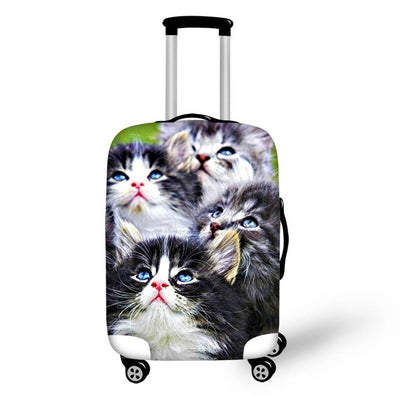 "Cat Collection Luggage Cover 18"" to 30"""