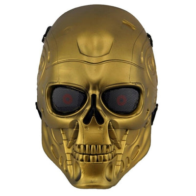 Terminator Skull Paintball & Airsoft Full Face Protection Mask