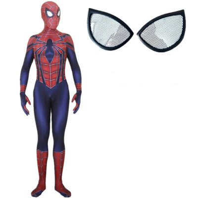 Spider-Man Blue Superior Cosplay Bodysuit Costume for Kids and Adults