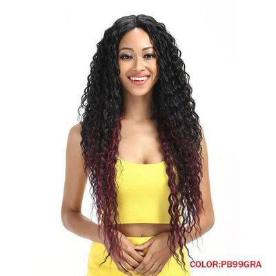 "30"" Long Wavy Synthetic Hair Wig"