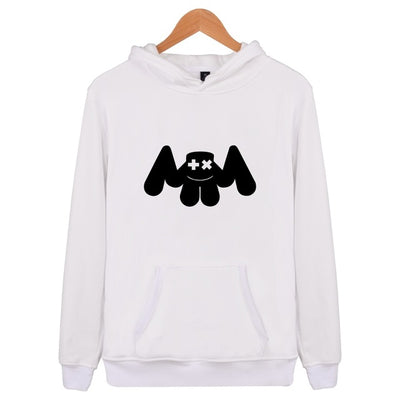 Unisex Dj Marshmello Logo Hooded Sweatshirt