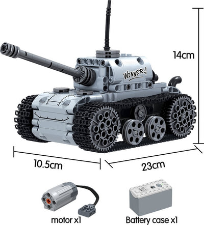 Electric Tank Model Building Blocks 378 pcs