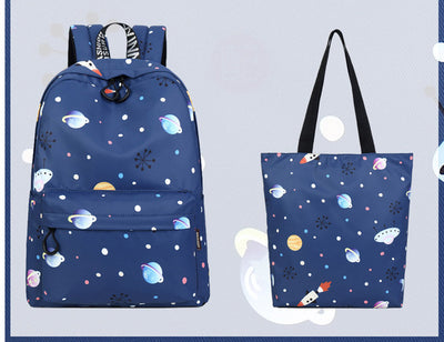 "Saturn Space Backpack with 14"" and 15"" Laptop Compartment"