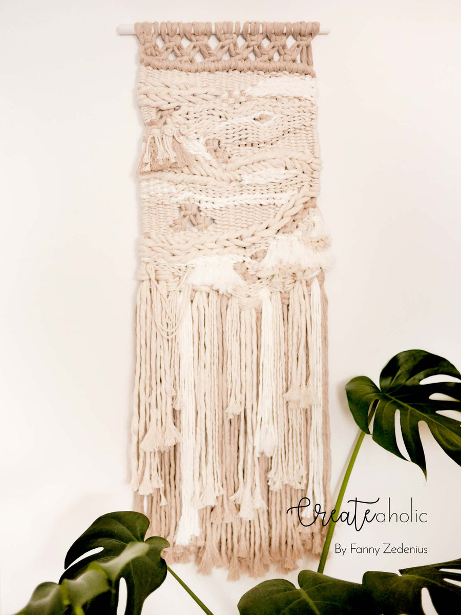 Macramé wallhanging, no. 4 of