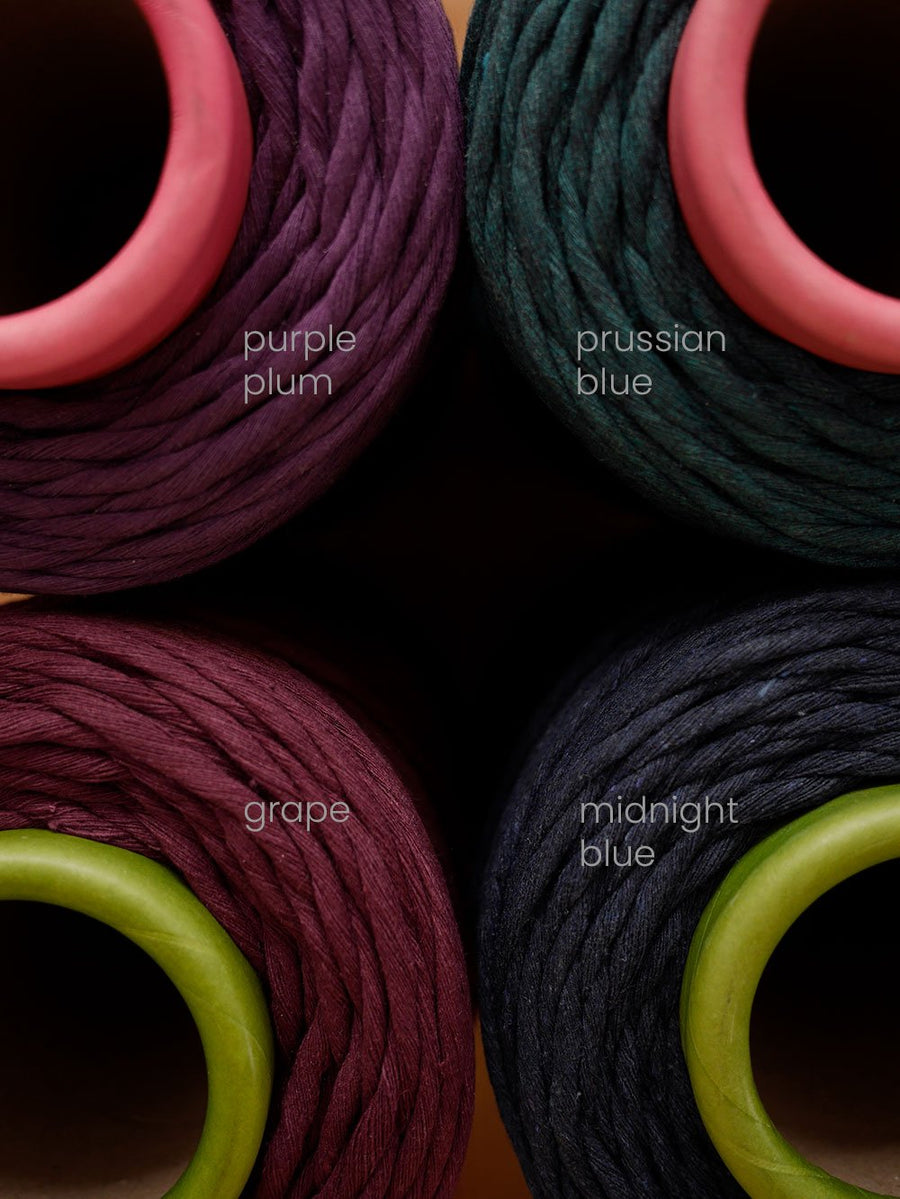 5mm Grape cotton string, 1 kg