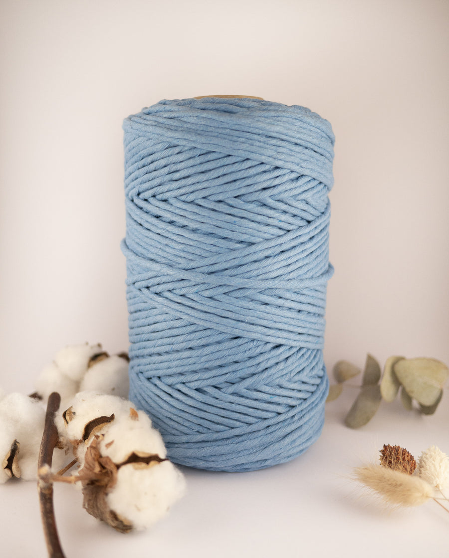 Celestial Blue cotton string, 1 kg
