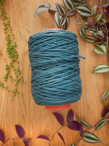5mm Prussian blue cotton string, 1 kg