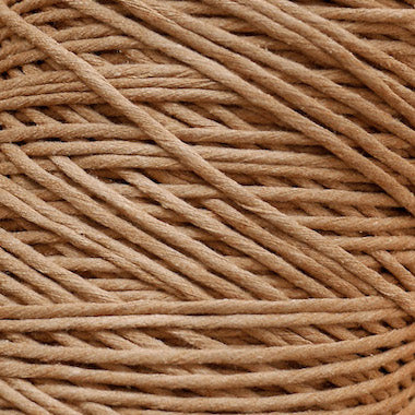 Walnut brown cotton string, 1 kg