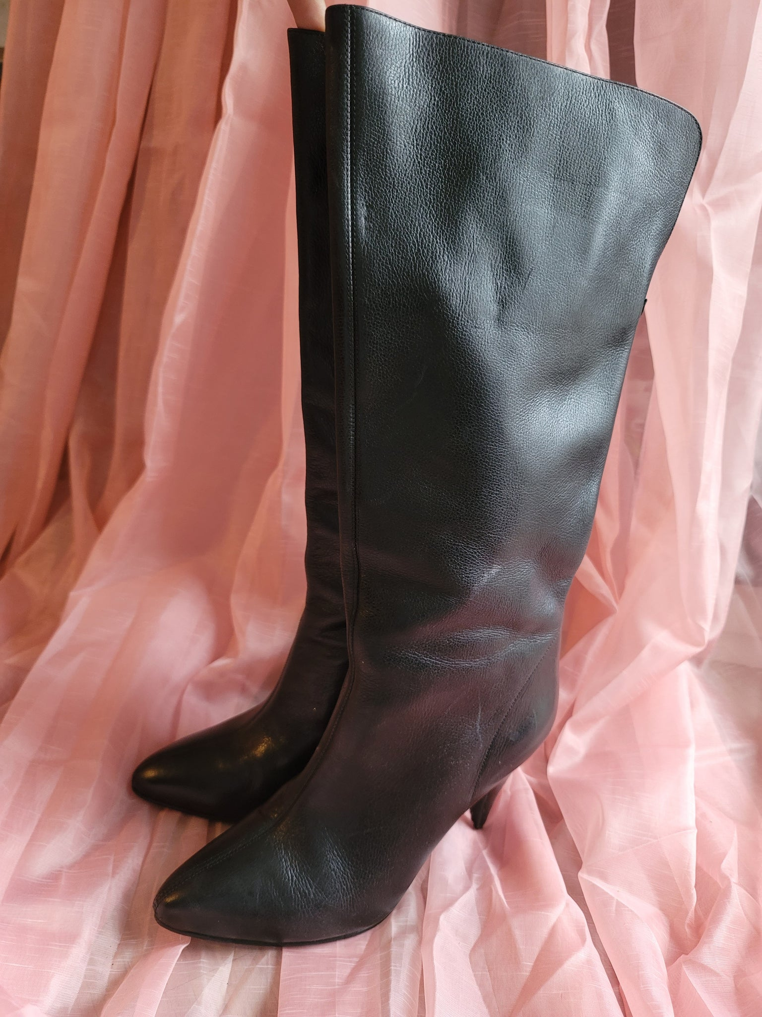 Leather Me Up Boots