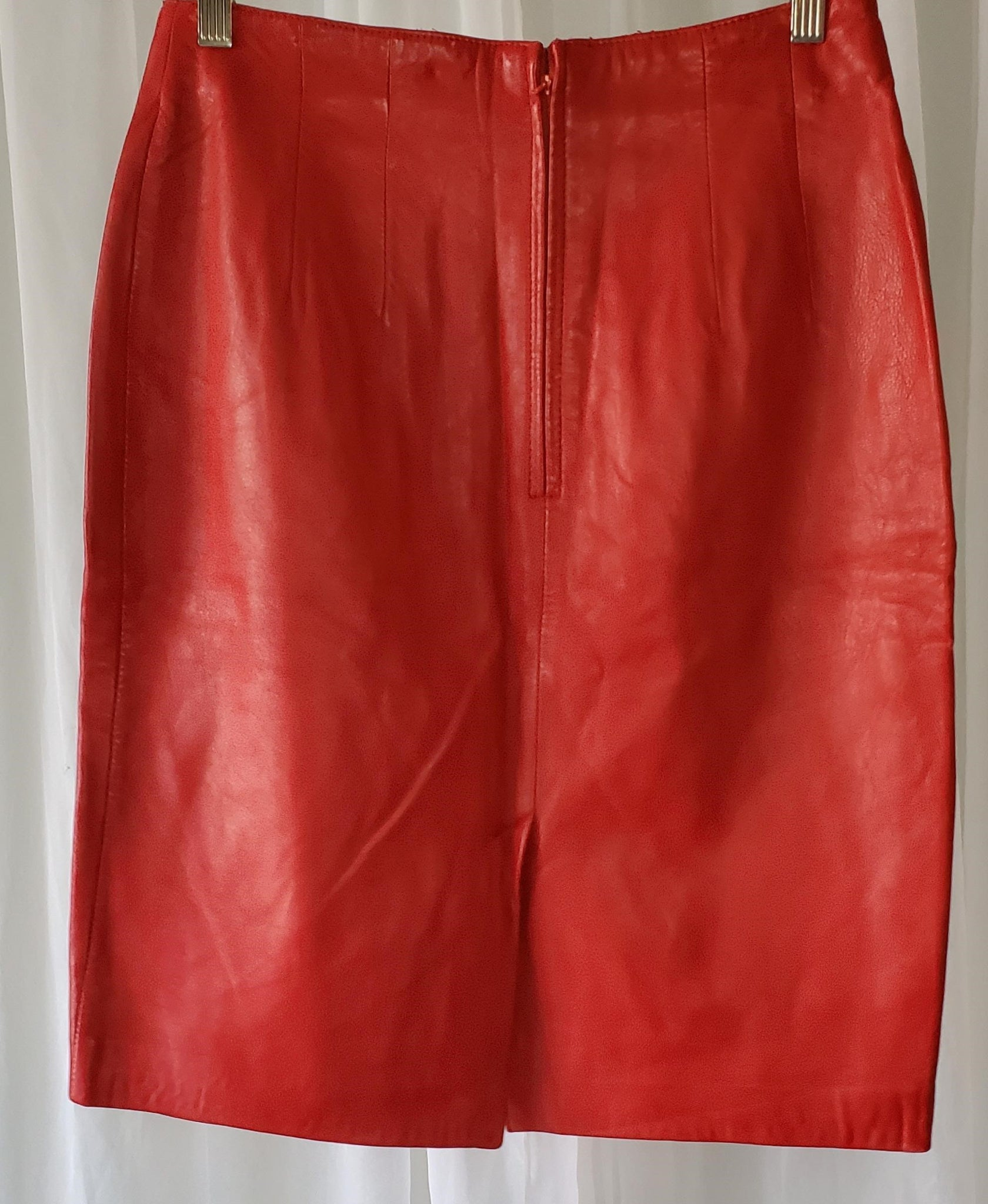Siren Leather Skirt