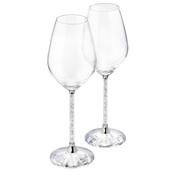 Crystalline Wine Glasses (Set of 2)