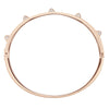 Tactic Bangle, White, Rose-gold tone plated
