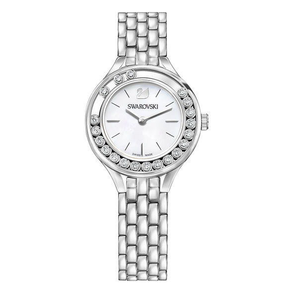Lovely Crystals Watch, Metal bracelet, Stainless steel