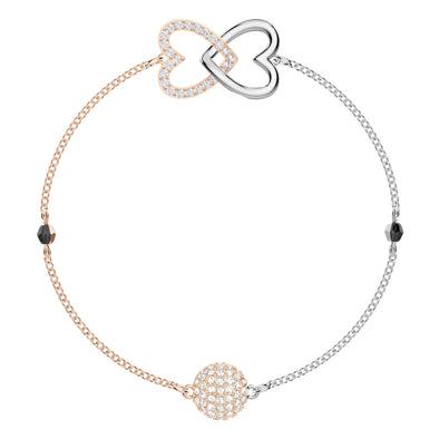 Swarovski Remix Collection Forever Strand, White, Mixed metal finish