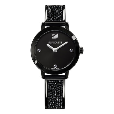 Cosmic Rock Watch, Metal bracelet, Black, Black PVD