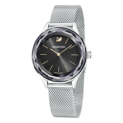 Octea Nova Watch, Milanese bracelet, Black, Stainless steel