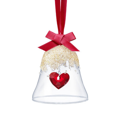 Christmas Bell Ornament, Heart