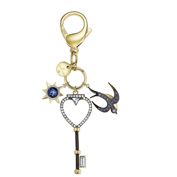 Tarot Swallow Bag Charm, Multi-colored