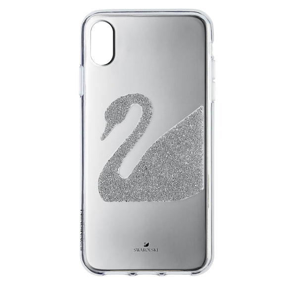 Swan Smartphone Case, iPhone® XS Max, Gray