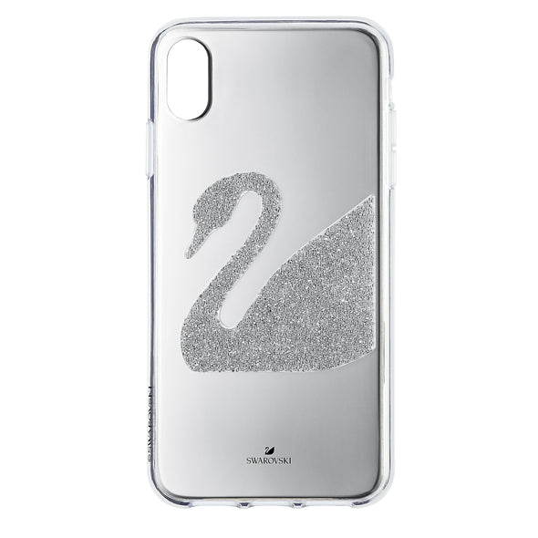 Swan Smartphone Case, iPhone® XR, Gray