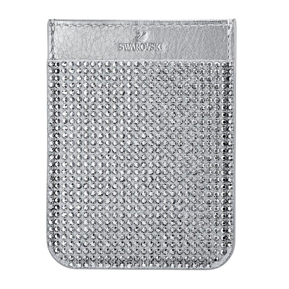 Swarovski Smartphone sticker pocket, Gray