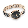 Dream Rock Watch, Metal bracelet, Grey, Champagne-gold tone PVD