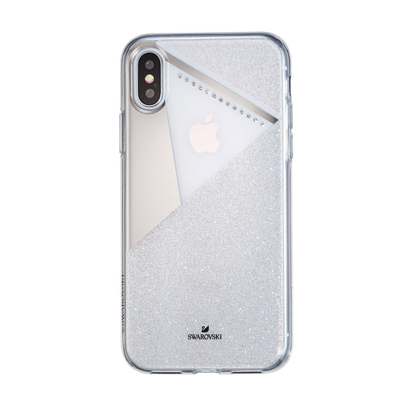 Subtle Smartphone Case with Bumper, iPhone® X/XS, Silver Tone