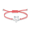 Swarovski Power Collection Flower Bracelet, Red, Stainless steel