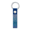Anniversary Key Ring, Blue, Stainless steel