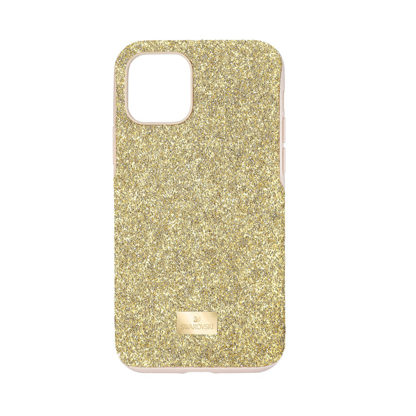 High Smartphone Case with Bumper, iPhone® 11 Pro, Gold tone