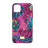 Tropical Smartphone Case with Bumper, iPhone® 11 Pro Max, Dark multi-coloured