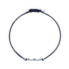 Sand Bracelet, Blue, Stainless steel